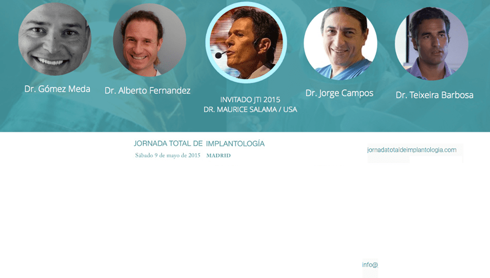 Implantology Full Day: 9th May 2015 in Madrid